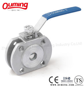 Stainless Steel Wafer Type Ball Valve pictures & photos