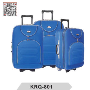 Shantung Silk EVA Outside Trolley Luggage pictures & photos