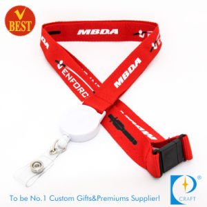 Custom Printed Sublimation Lanyard with Reel Badge pictures & photos