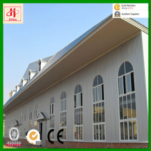 Glass Curtain Wall Multi-Storey Floor Steel Frame Prefabricated Buildings pictures & photos