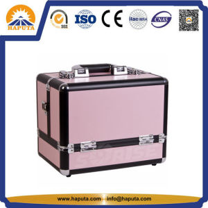 Hard Aluminium Beauty Vanity Case with 6 Trays (HB-2037) pictures & photos