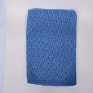 Blue, Ultra-Fine Fiber Cleaning Cloth, Durable, Protective Hand, Strong Decontamination, Not Hair Removal, Do Not Fade, Practical pictures & photos