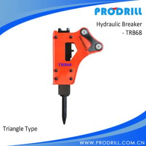 Chisel 68mm Triangle Side Type Hydraulic Excavator Road Breaker pictures & photos