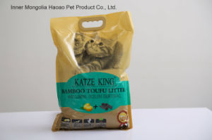 Tofu Cat Litter --Bamboo Active Carbon pictures & photos