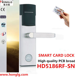 Smart Key Card Electronic Hotel Door Lock (HD5186) pictures & photos