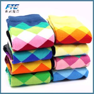 Happy Socks Men′s Colorful Funny Combed Cotton Socks pictures & photos