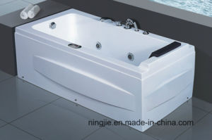 Hydro Massage Bathtub with Pillow (524) pictures & photos