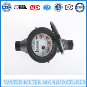 Black Plastic Water Meter Nylon Water Meter pictures & photos