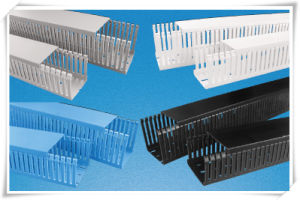 PVC Gray Wire Ducts Slotted Wire Trunking pictures & photos