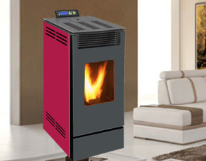 Wood Pellet Stove (NB-PS-C) Burgundy pictures & photos