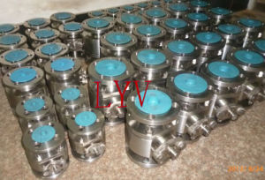 API Stainless Steel Flanged Ball Valve