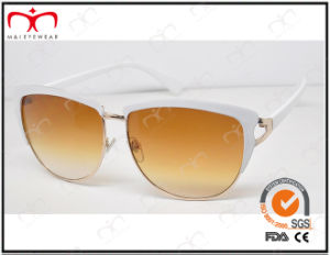 Fashionable Hot Selling UV400 Protection Metal Sunglasses (KM14266) pictures & photos