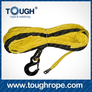 Tr-26 Dyneema Synthetic 4X4 Winch Rope with Hook Thimble Sleeve Packed as Full Set pictures & photos