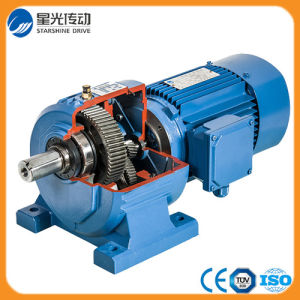 China R107 Helical Gear Motor With 22kw 3 Phase Motor China Speed Gearbox Geared Motor