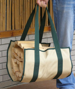 Canvas Firewood Log Holder Carrier pictures & photos