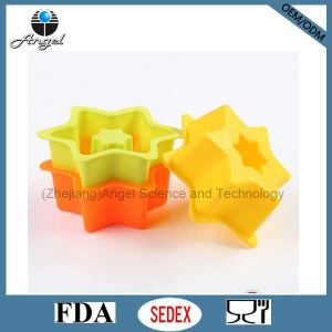 FDA & LFGB Approved Silicone Cake Mold Cake Pan Sc06 pictures & photos