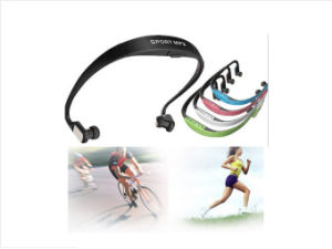 Sport FM Radio Headphone with MP3 Player 2016 pictures & photos