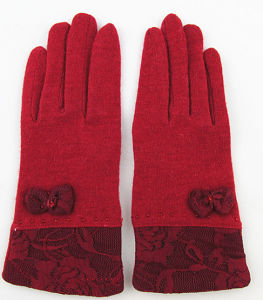 Girl′s Wool Glove