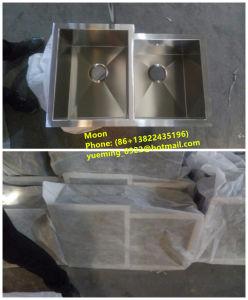 Sink, Kitchen Sink, Handmade Sink 60/40, Undermount Kitchen Double Sink HMD3121 pictures & photos