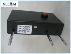 Newest Portable Quad Band RC Jammer (868MHz/ 315MHz/ /433MHz) Model#Cpj-RC05A pictures & photos