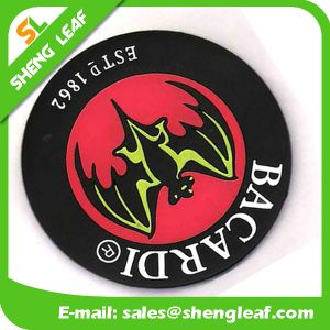 Cheap High Quality Soft Rubber Silicone Coaster (SLF-RC038)