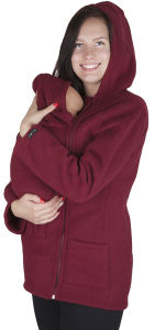 Wholesale Cotton Woman Hoody with Kangaroo Bag pictures & photos