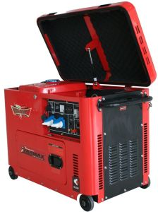 6kVA Air Cooled Silent Type Diesel Generator pictures & photos