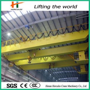 Electric Materials 10 Ton Double Girder Overhead Crane for Scrap pictures & photos