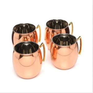 16oz S/S Stainless Steel Mule Mug in Solid Copper pictures & photos