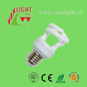 Half Spiral T2 5W Energy Saving Lamp CFL pictures & photos