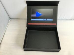 7inch Touch Screen Box Brochures/Card Wholesale pictures & photos