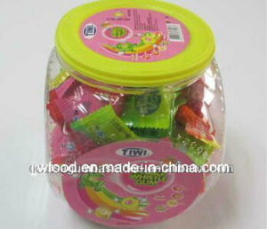 Tiwi 3.2g Fruit Flavor Whistle Bubble Gum in Plastic Jar pictures & photos