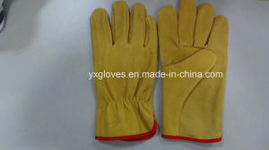 Leather Glove-Driver Glove-Working Glove-Safety Glove pictures & photos