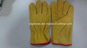 Leather Glove-Driver Glove-Working Glove-Safety Glove pictures & photos