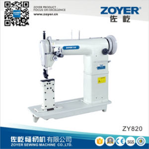 Zoyer Golden Wheel Double Needle Post-Bed Sewing Machine (ZY820) pictures & photos