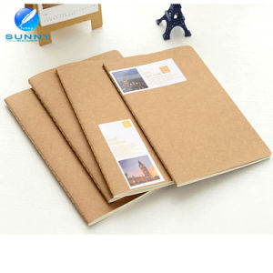 2015 China Print Nature Blank Kraft Paper Notebook pictures & photos