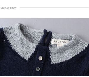 Phoebee Wholesale Knitted Sweater Children Clothing pictures & photos