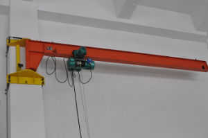 Bx Type Wall Column Jib Crane with 180 Degree pictures & photos