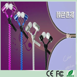 10% off Metal Stereo Zipper Earphone for iPhone Mobile Phone (K-916) pictures & photos