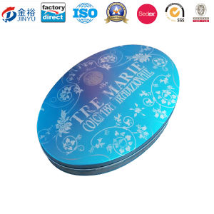 Big Sized Oval Shaped Metal Box for Packaging Box pictures & photos
