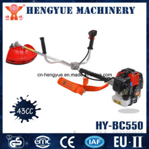 CE Ceritified 43cc Gasoline Brush Cutter Machine with Primer Bulb pictures & photos