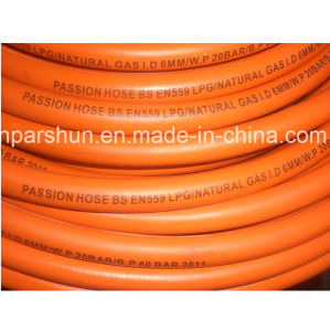 3/8 Inch (10mm) Flexible Rubber Gas Cooker Hose pictures & photos