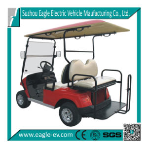 4 Seater Golf Cart, Wifh Flip Seat, Foldable Windshield, 6 Standard Color, Speedometer, Hour Meter, Program Port, Mode Switch pictures & photos
