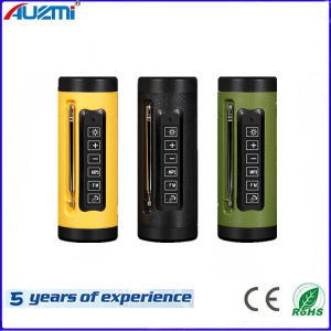 A12 Portable Wireless Flashlight Bass Bluetooth Speaker for Outdoor Cycling