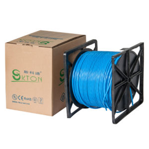UL, CE, RoHS Apporved Self-Extinguishing FTP CAT6 LAN Cable pictures & photos