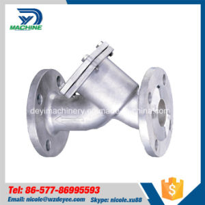 Stainless Steel Hygienic ANSI Flanged Y-Type Strainer pictures & photos