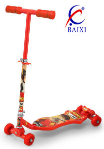 70mm PU Wheels Scooter Kids (BX-4M002) pictures & photos
