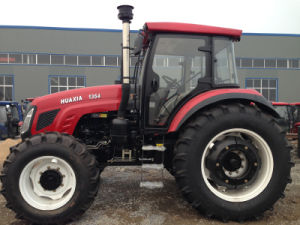 Huaxia 135HP Agriculture Wheel Tractor with All Kinds of Farm Implements pictures & photos