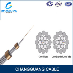 48 Core G652D Fiber Al-Covered Steel Earthwire Opgw Fiber Cable pictures & photos