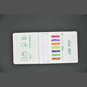 7 Panel Urine Drug Test DIP Card Ce Approved pictures & photos